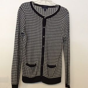 Lands End Cardigan XS